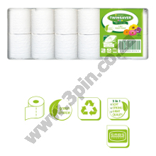 NAMPAK Twinsaver Toilet Paper - 1 Ply - 48 Unwrapped Rolls