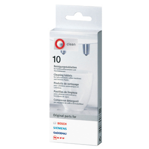 BOSCH / SIEMENS Coffee Machine Cleaning & Degreaser - 10 Tablets