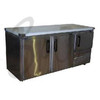 FRIDGE STAR EB1850SS 2.5 Stainless Steel Door Undercounter Fridge